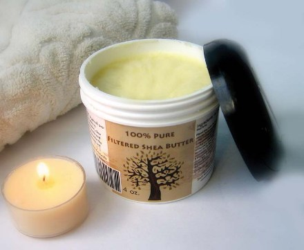 Shea butter to remove cellulite