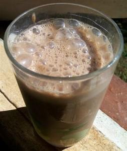carob smoothie