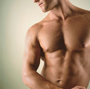 lose weight pectoral zone