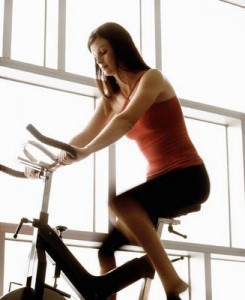 losing weight with spinning