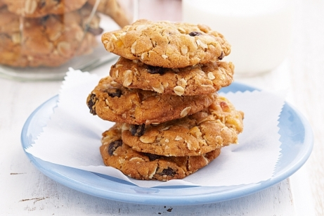 Light oat and carrot Cookies