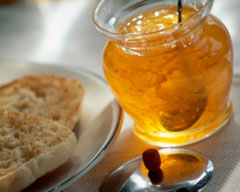 Light orange marmalade