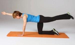 strengthen the buttocks