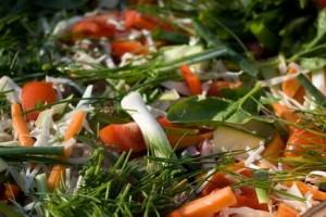 eat frozen vegetables