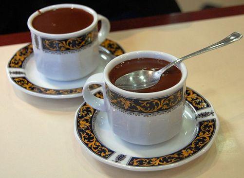 light hot chocolate