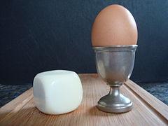 light breakfast with egg