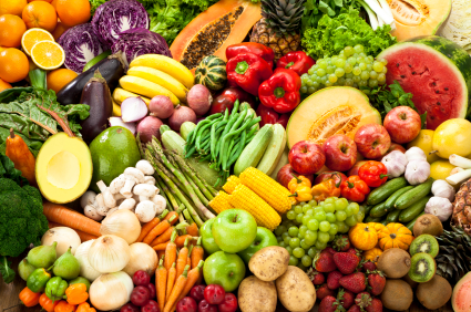 Fruit and vegetable diet: side effects