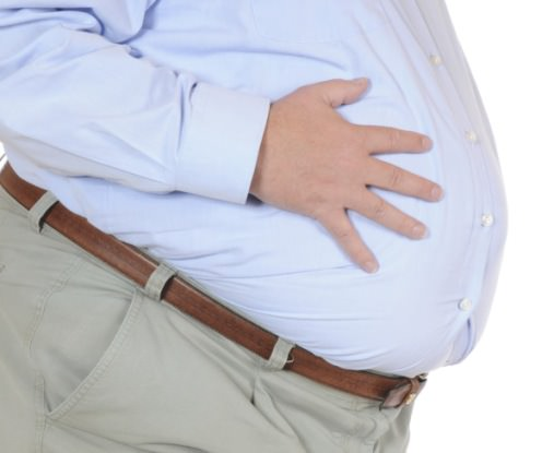 obese people with fatty liver