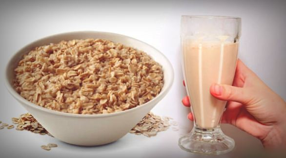 oatmeal water to lose weight
