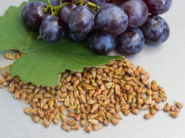 Properties of grape seed extract to lose weight