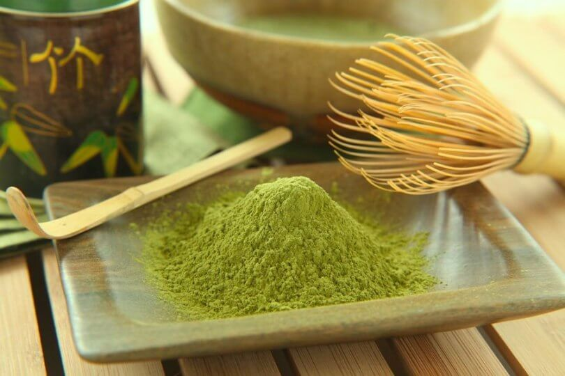 Matcha green tea for weight loss